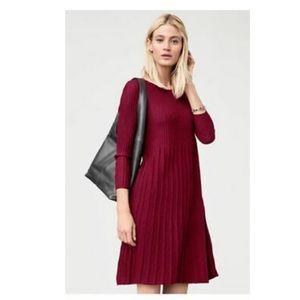 Eileen Fisher Washable Wool Scoop Neck Dress